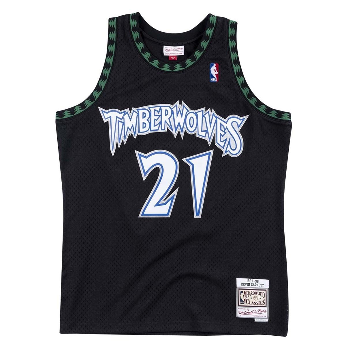 Mitchell & Ness Swingman Jersey Minnesota Timberwolves Kevin Garnett '1997-98'