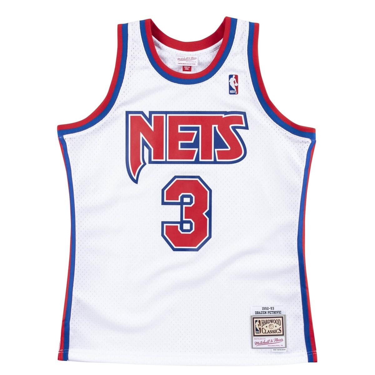 Mitchell & Ness Swingman Jersey Nets Petrovic '1992-93'