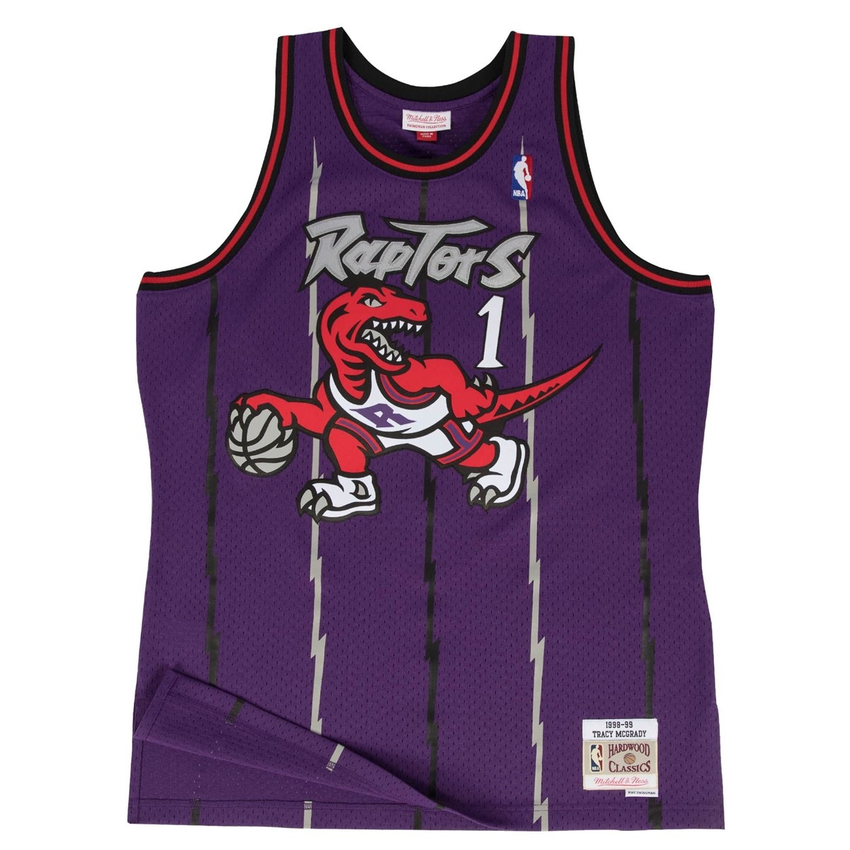 Mitchell & Ness Swingman Jersey Toronto Raptors Tracy McGrady '1998-99'
