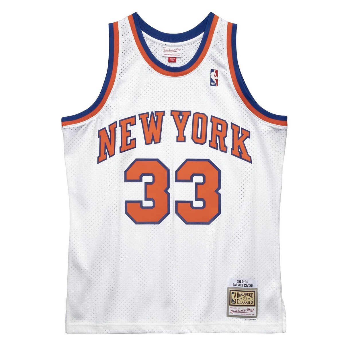 Mitchell & Ness Swingman New York Knicks 1985-86 'Patrick Ewing'