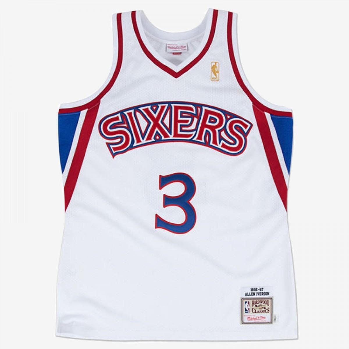 Mitchell & Ness Iverson Swingman Jersey Home 'Philadelphia 76ers'