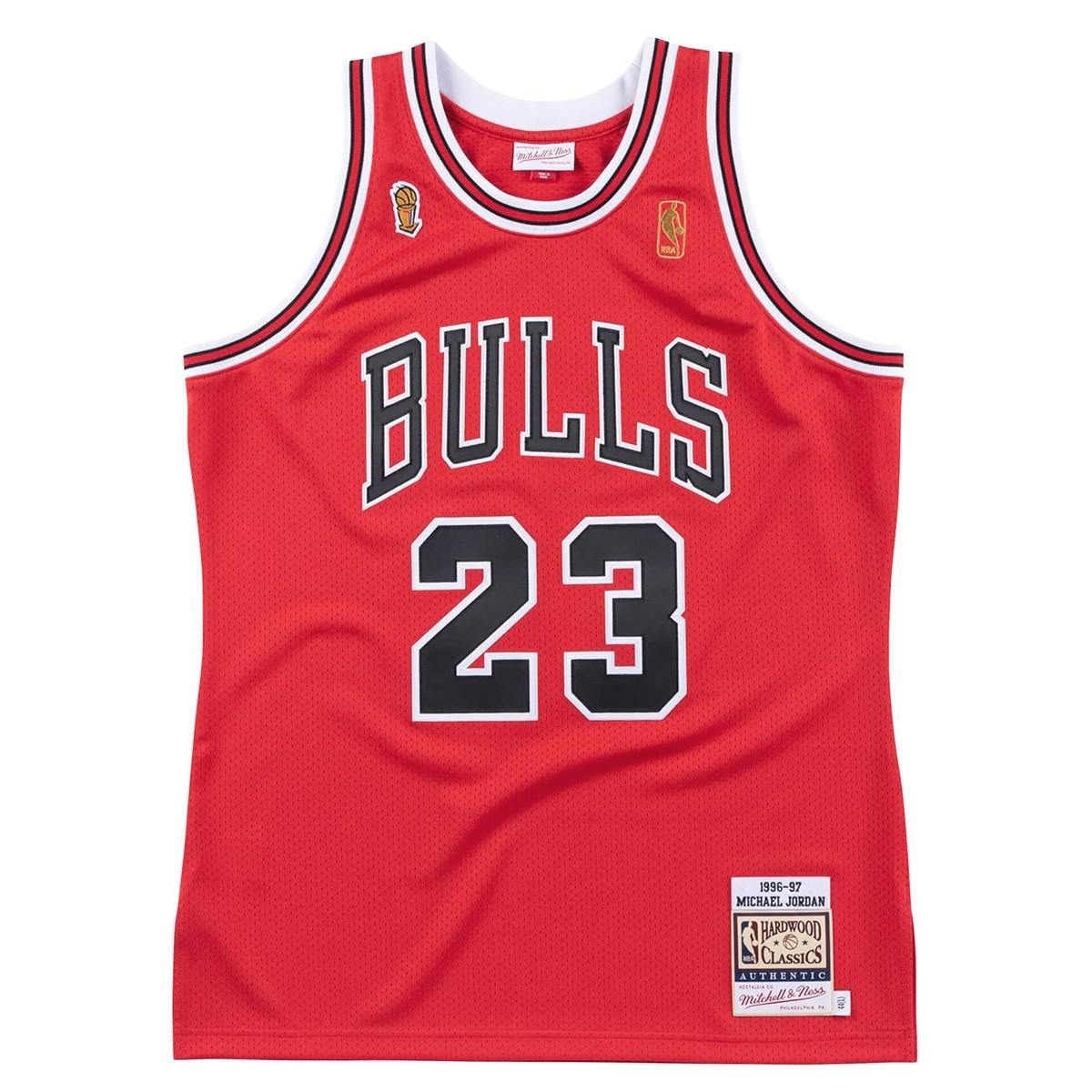 Mitchell & Ness Jordan Authentic Jersey 'Finals 96-97'