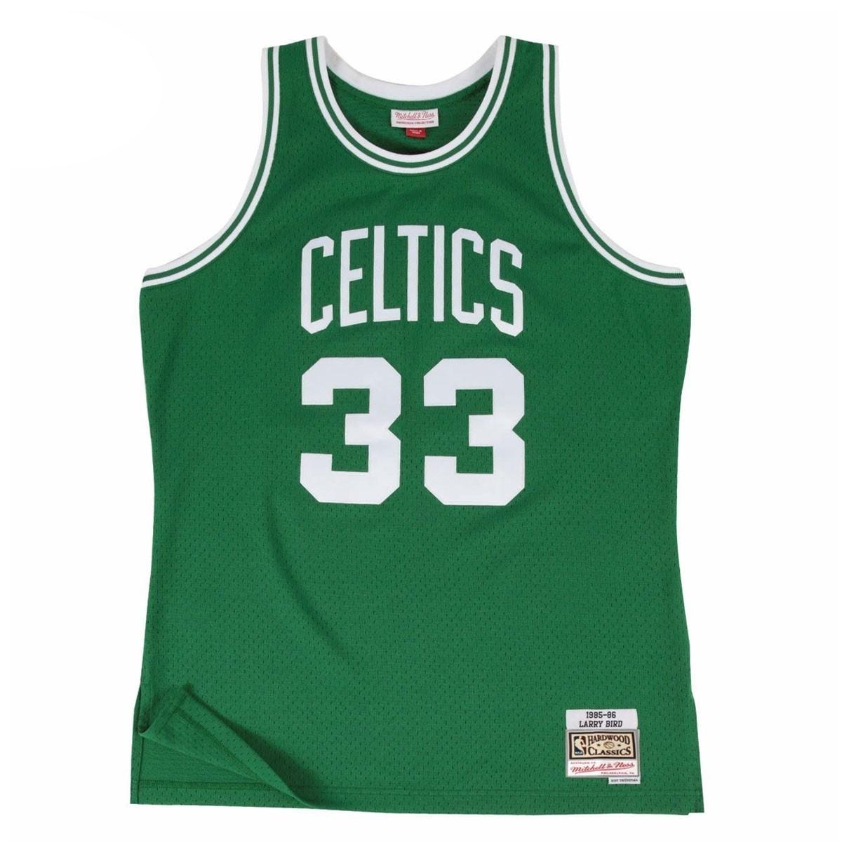 Mitchell & Ness Larry Bird Swigman Away 'Celtics'