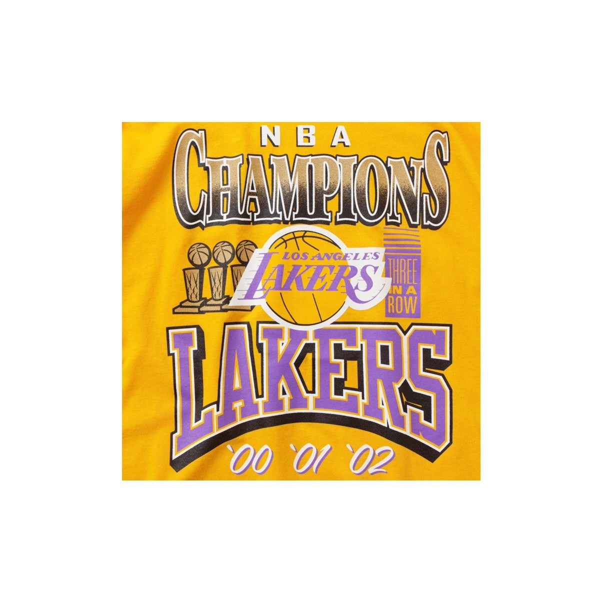 Mitchell & Ness NBA 3x Champions 'Los Angeles Lakers'-BMTRINTL939-LAL