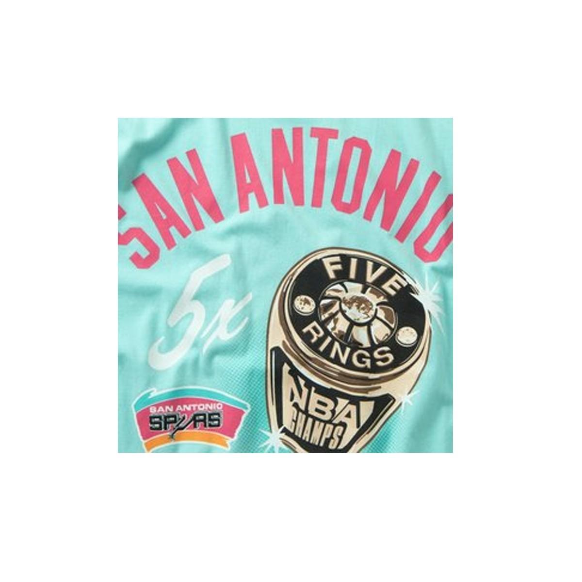 Mitchell & Ness NBA Pastel Rings 'San Antonio Spurs'-INTL861-SASPUR
