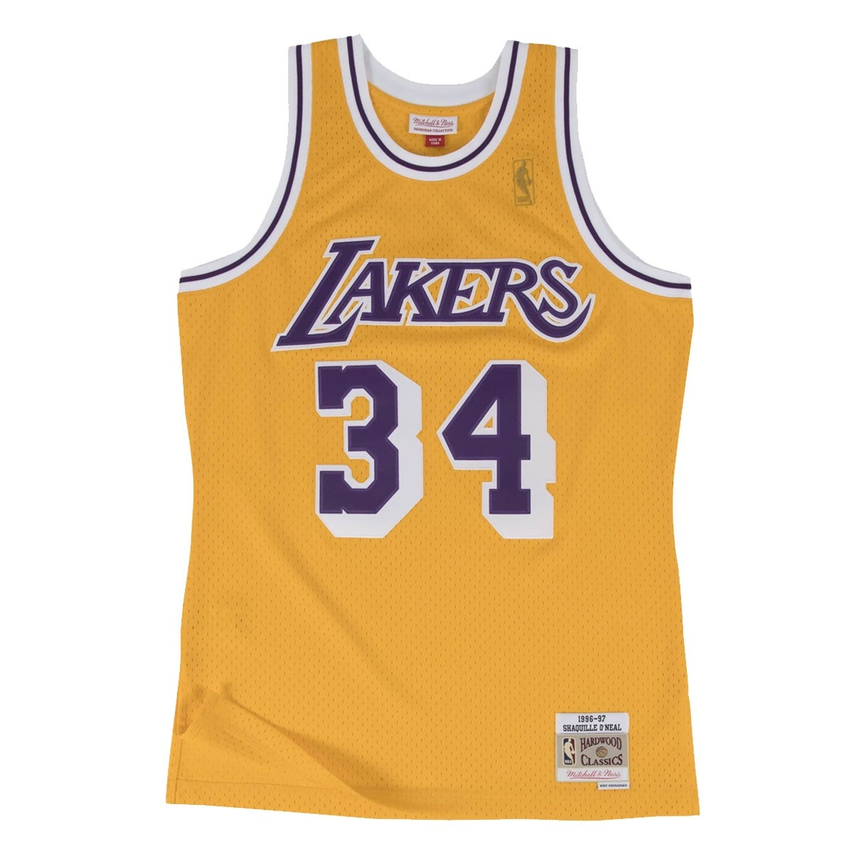 Mitchell & Ness O'Neal Swingman Jersey Away 'Lakers'