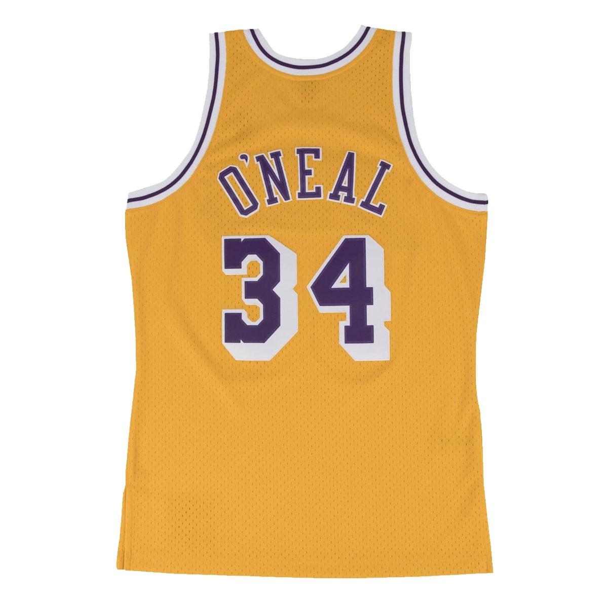 Mitchell & Ness O'Neal Swingman Jersey Away 'Lakers' SMJYGS18177