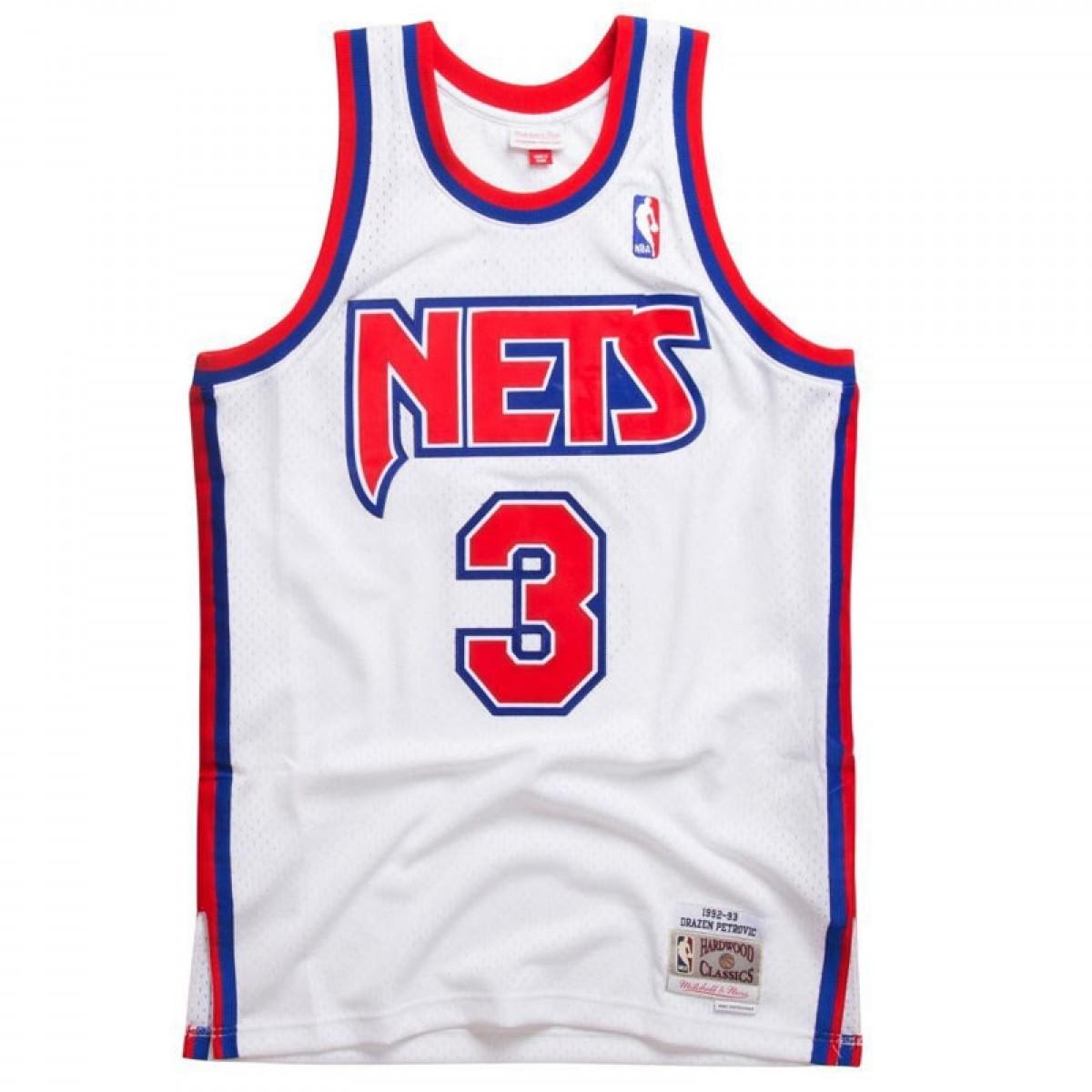 Mitchell & Ness Petrovic Swingman Jersey Home 'Nets'