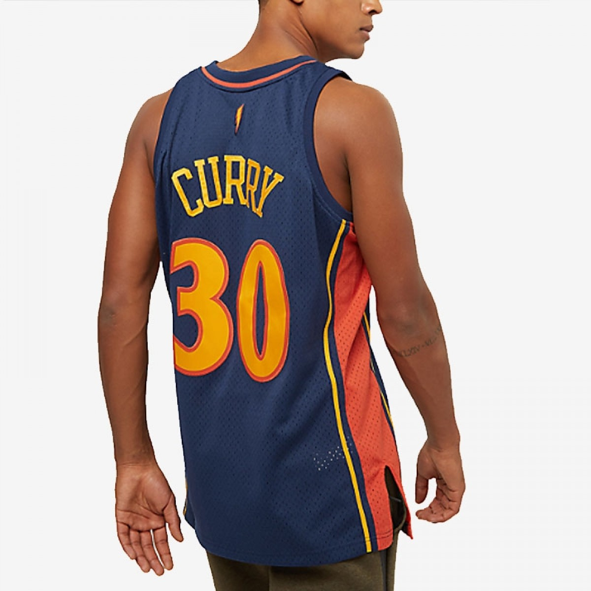 Mitchell & Ness Stephen Curry Swingman Jersey Away 'Warriors' 353J310FGYSCU