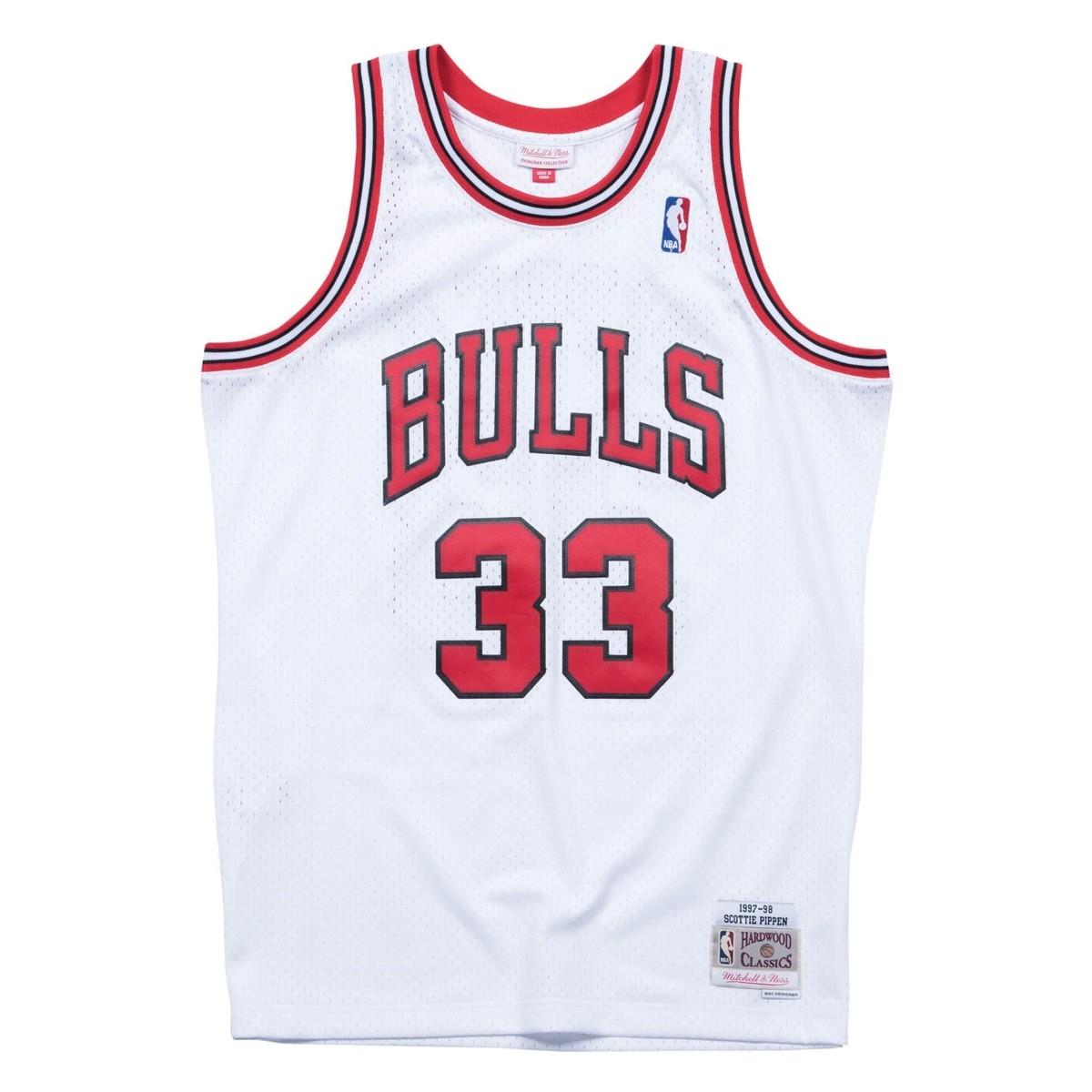 Mitchell & Ness Swingman Jersey Chicago Bulls Scottie Pippen '1997-98'