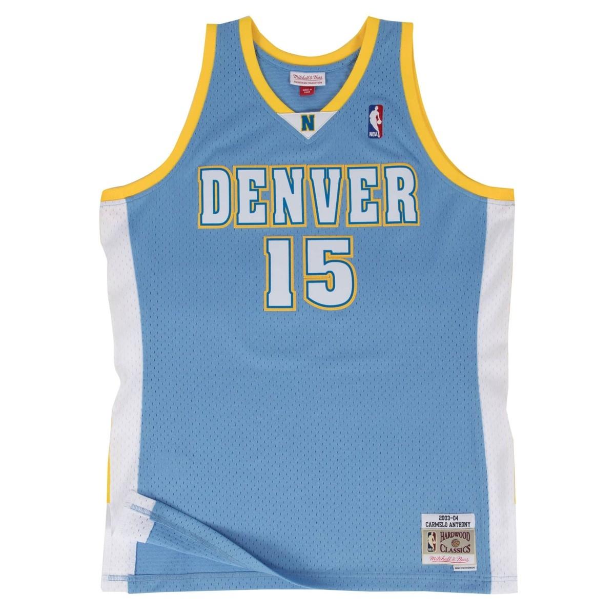 Mitchell & Ness Swingman Jersey Denver Nuggets Carmelo Anthony '2003-04'