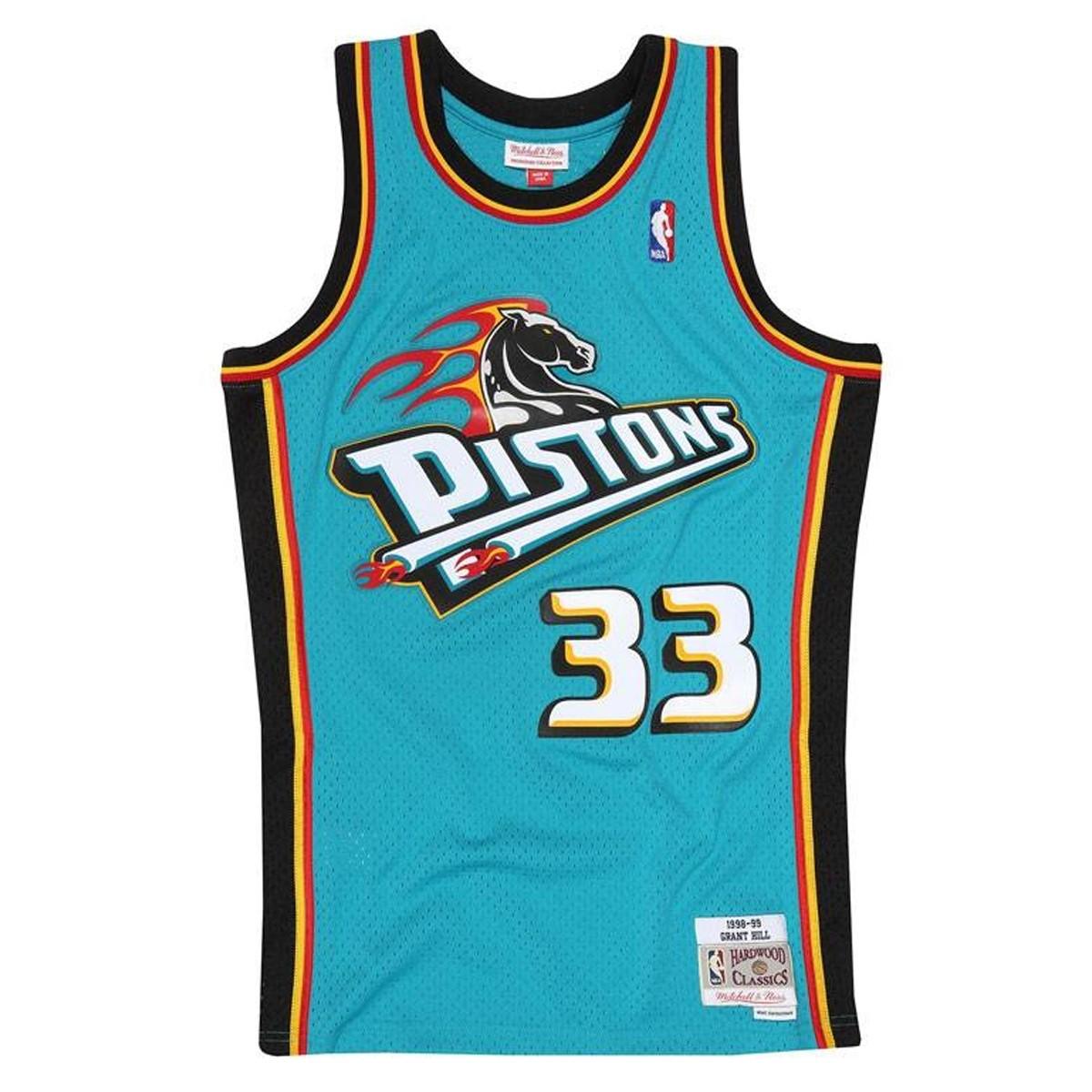 Mitchell & Ness Swingman Jersey Detroit Pistons Grant Hill '1998-99'