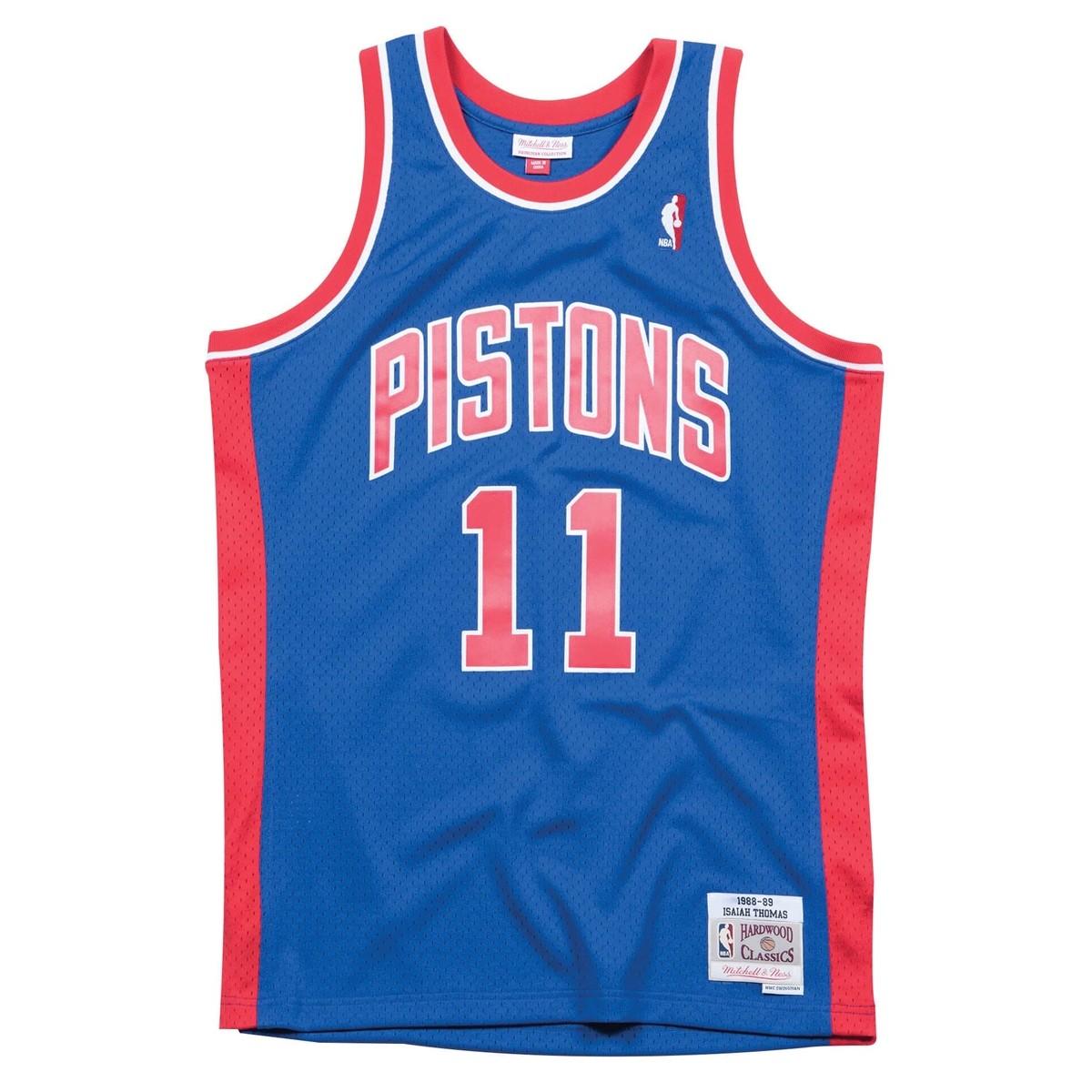 Mitchell & Ness Swingman Jersey Detroit Pistons Isaiah Thomas '1988-89'