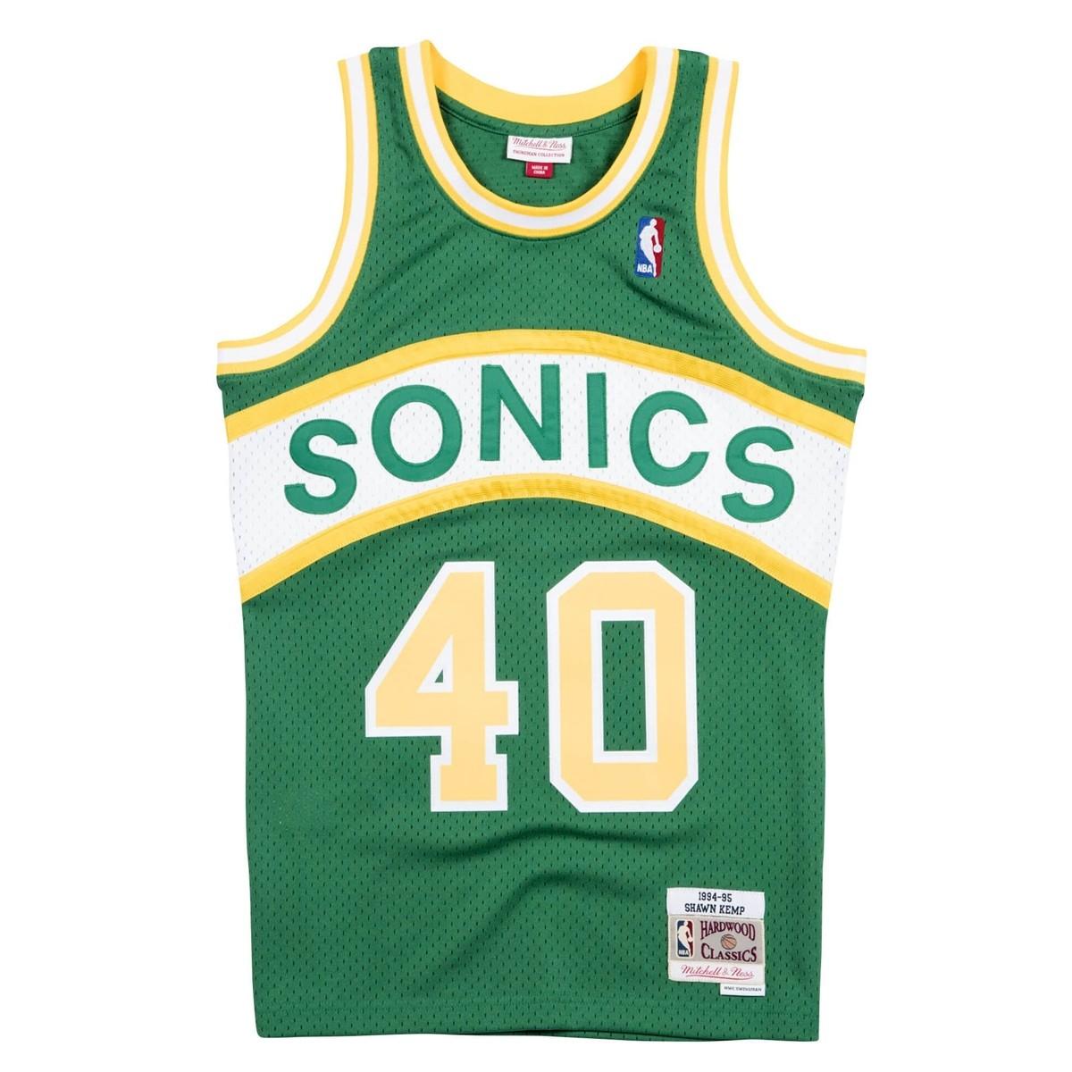 Mitchell & Ness Swingman Jersey Seattle SuperSonics Shawn Kemp '1994-95'