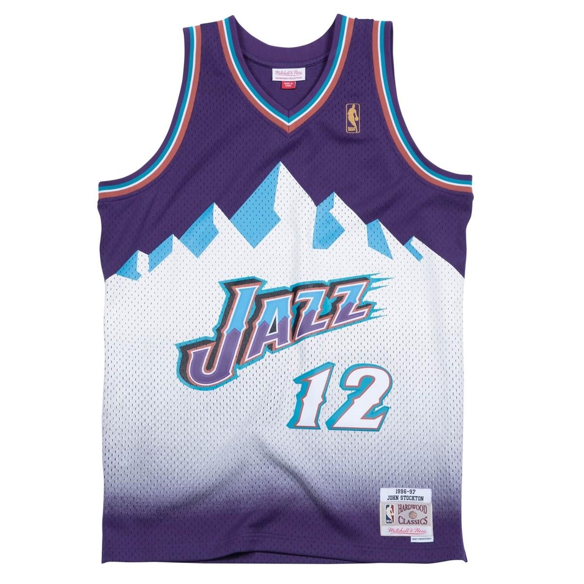 Mitchell & Ness Swingman Jersey Utah Jazz John Stockton '1996-97'