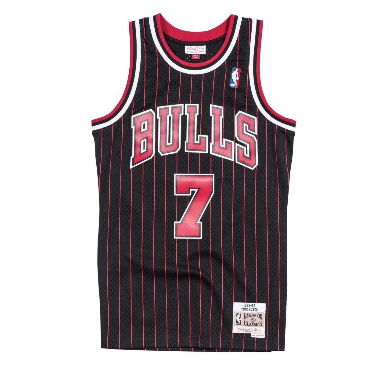 Mitchell & Ness Swingman Jersey Chicago Bulls Toni Kukoc '1995-96'