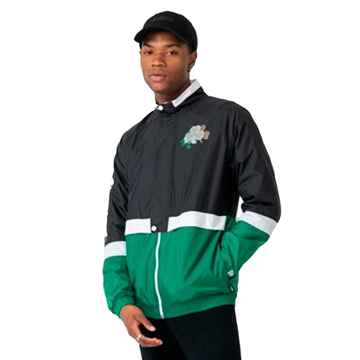 New Era Colour Block Track Jacket 'Celtics'