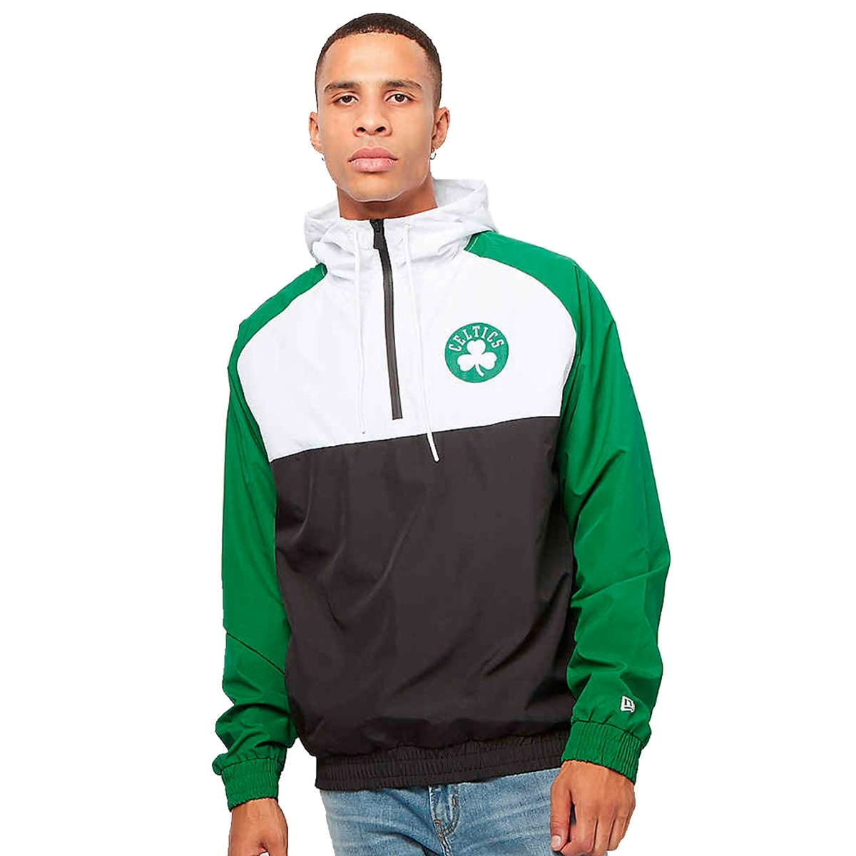 New Era Windbreaker Jacket 'Celtics'