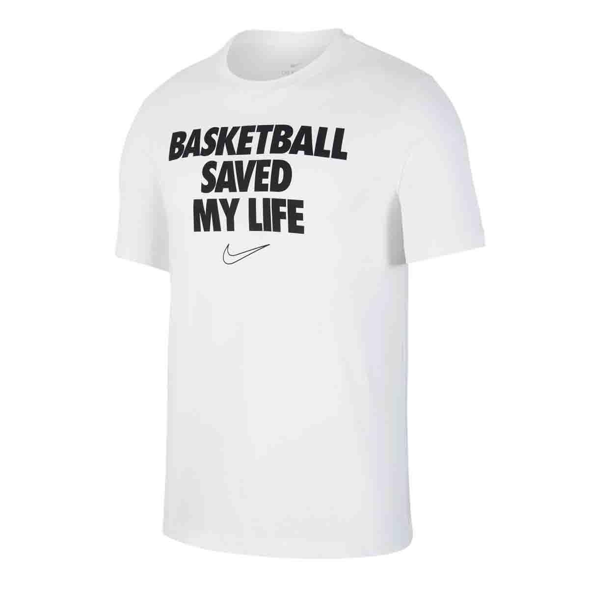 Nike Dri-FIT Tee My Life 'White'