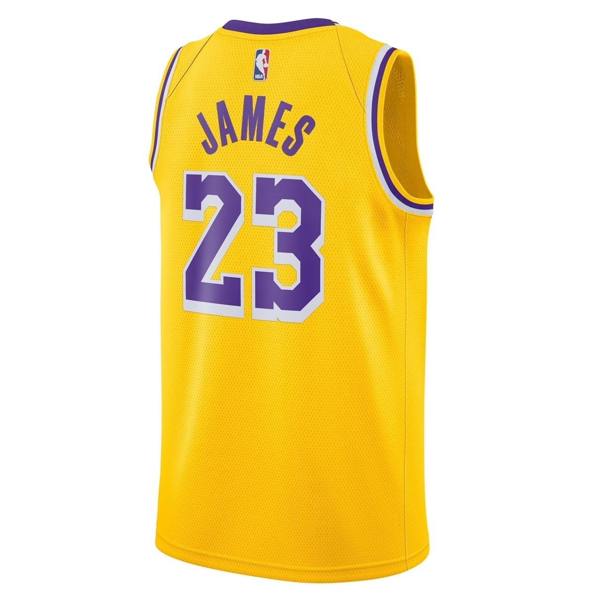 Nike Jr NBA Los Angeles Lakers Swingman Jersey Lebron James 'Icon Edition'-EZ2B7BZ2P-LAKJL