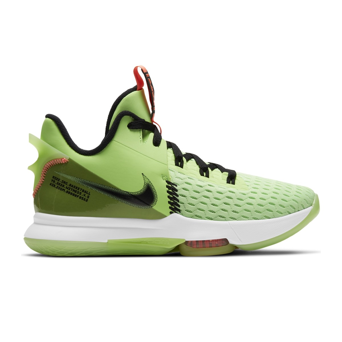 Nike Lebron Witness V Jr 'Ultra Volt'