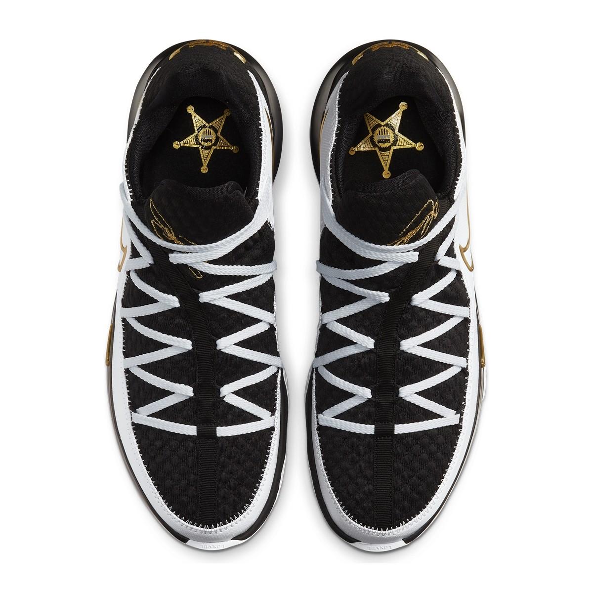 Nike Lebron XVII Low 'Metallic Gold' CD5007-101