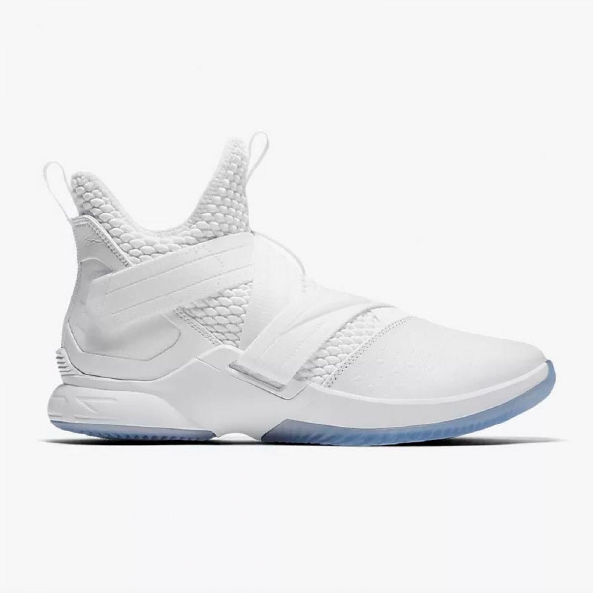 Nike Lebron Soldier XII SFG 'Triple White'