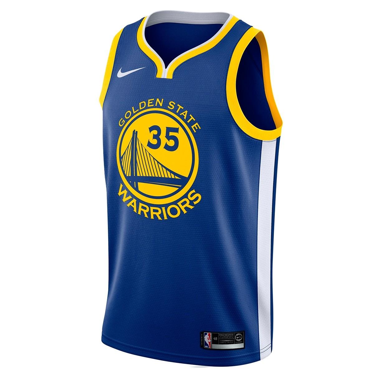 Nike NBA Warriors Swingman Jersey Kevin Durant 'Icon Edition'