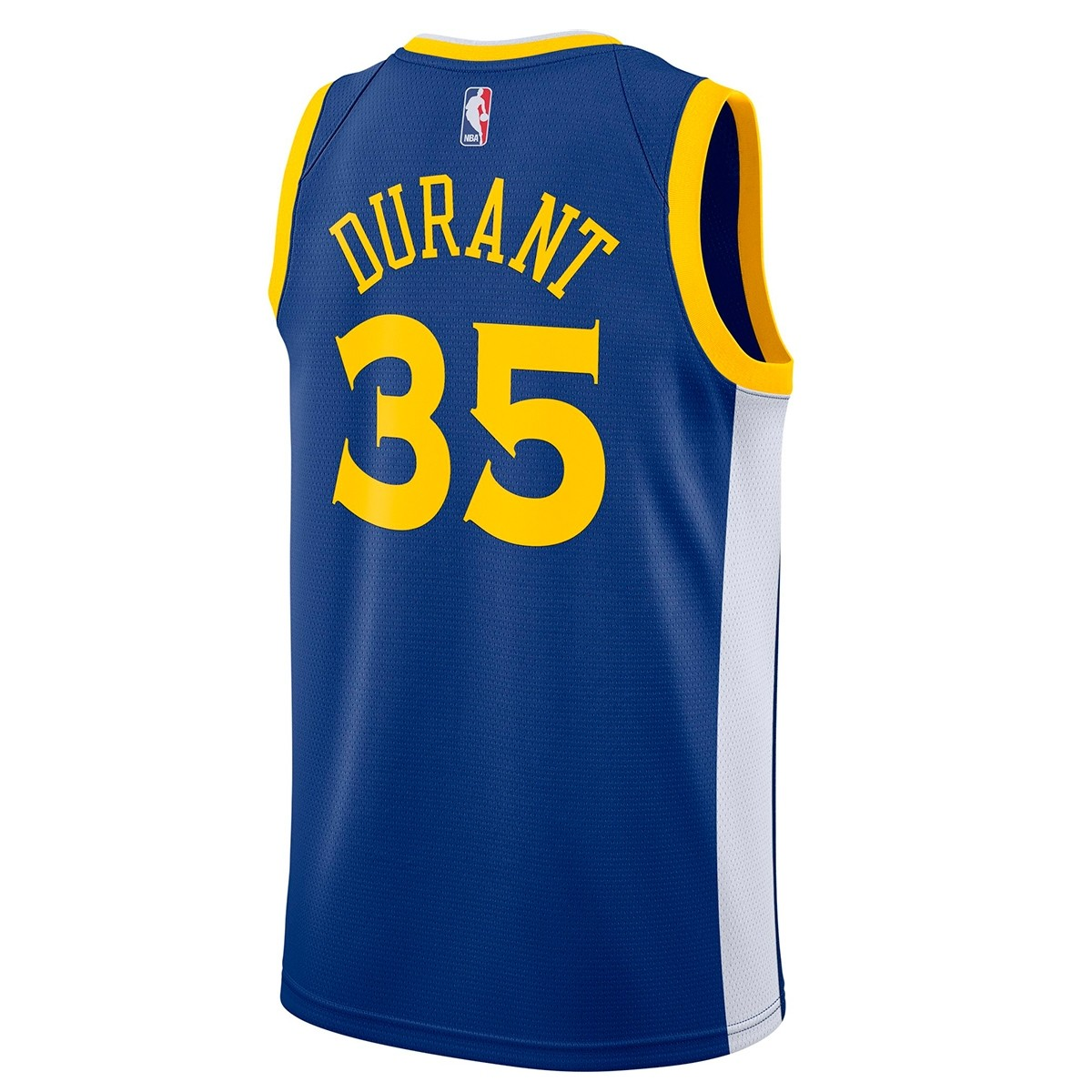 Nike NBA Warriors Swingman Jersey Kevin Durant 'Icon Edition' 864475-496