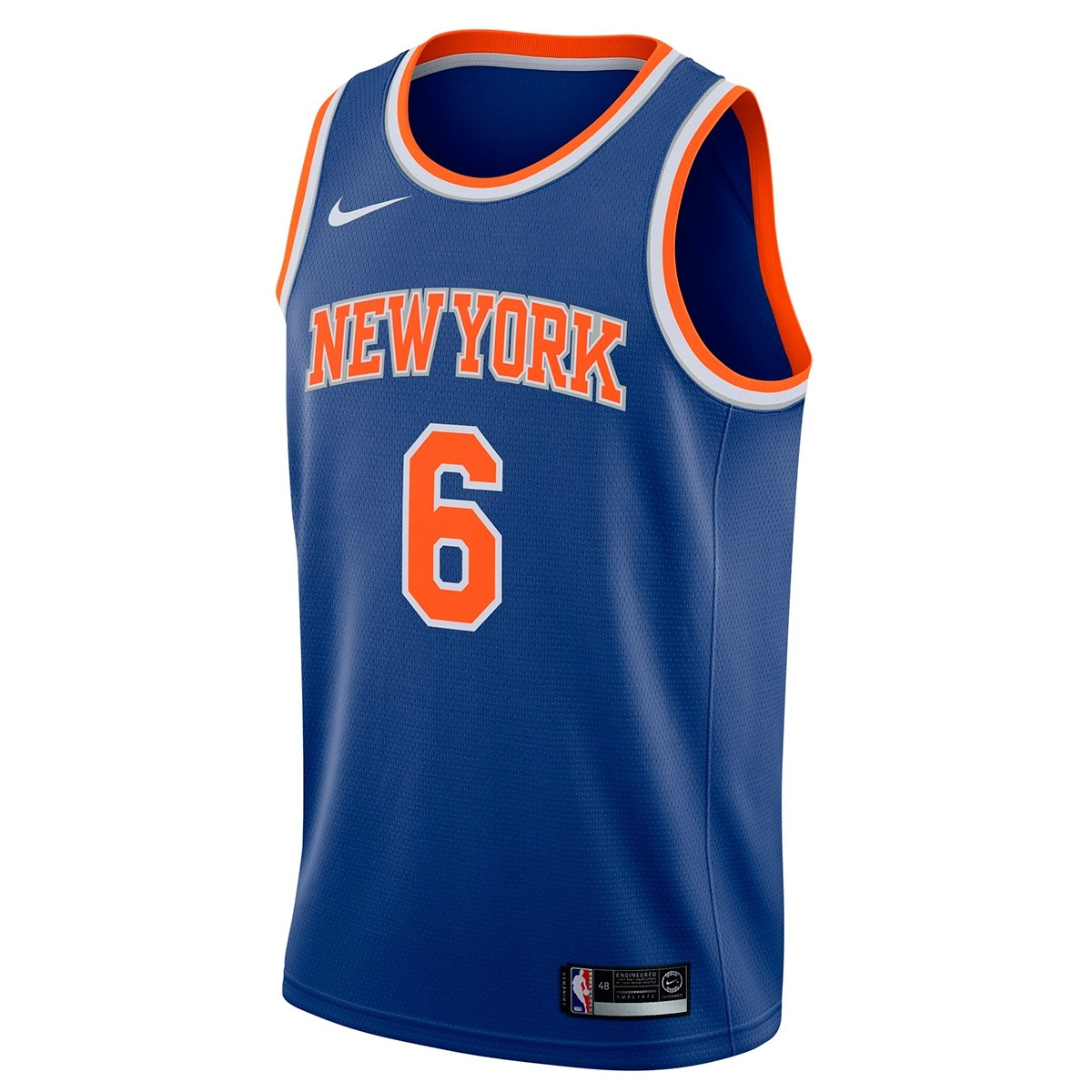 Nike Junior NBA NYK Swingman Jersey Porzingis 'Icon Edition'