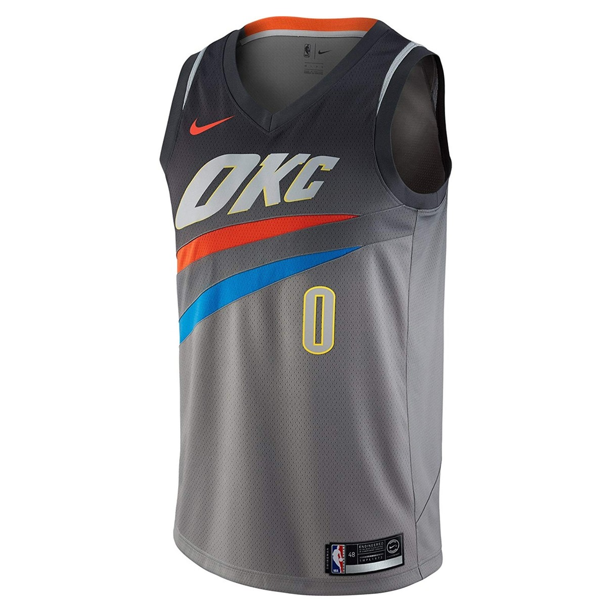 Nike NBA Swingman Jersey OKC Westbrook 'City Edition'