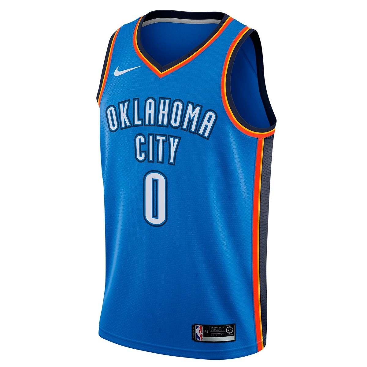 Nike NBA Swingman Jersey OKC Russell Westbrook 'Icon Edition'