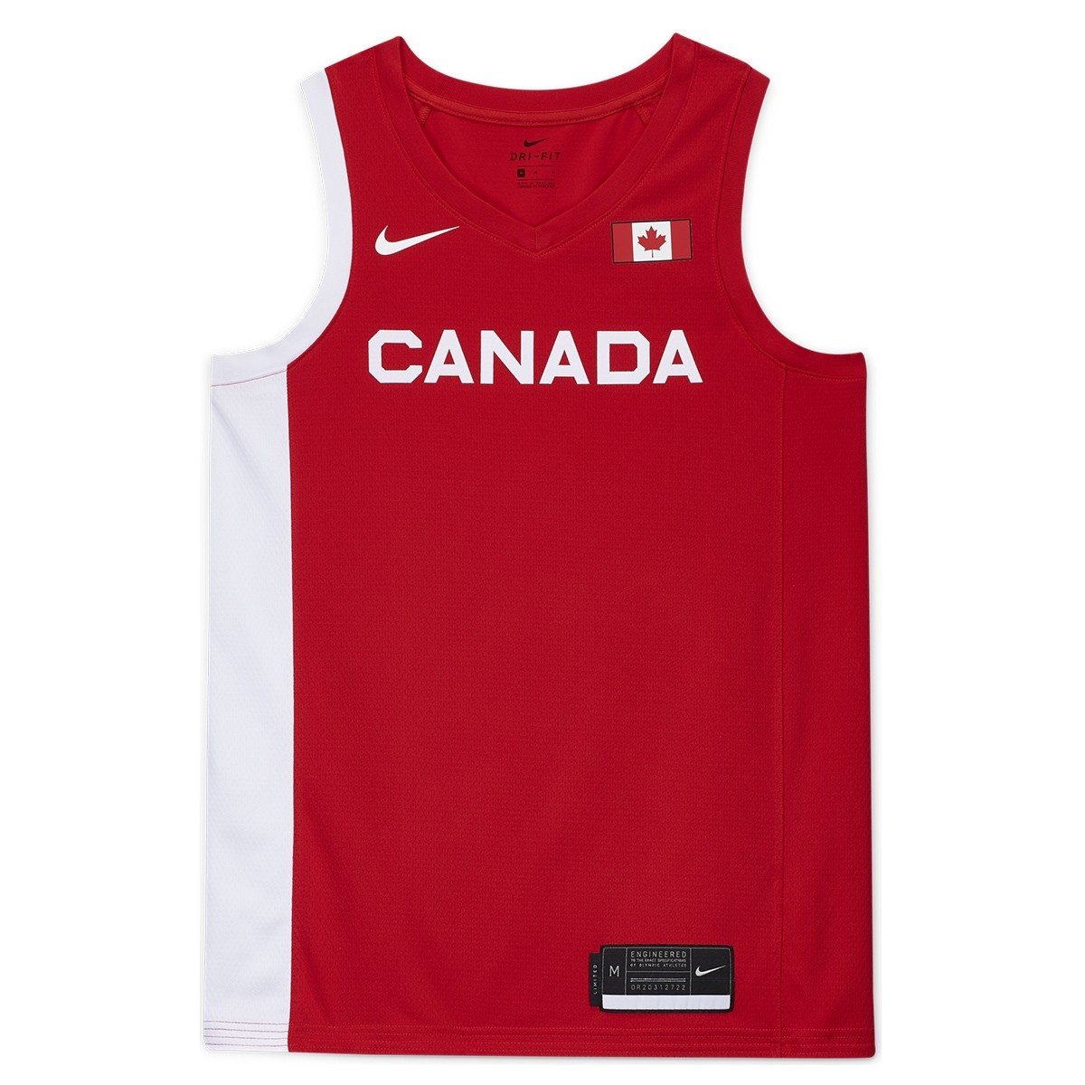 Nike Canada Olympics Jersey Tokyo 2020 'Red'
