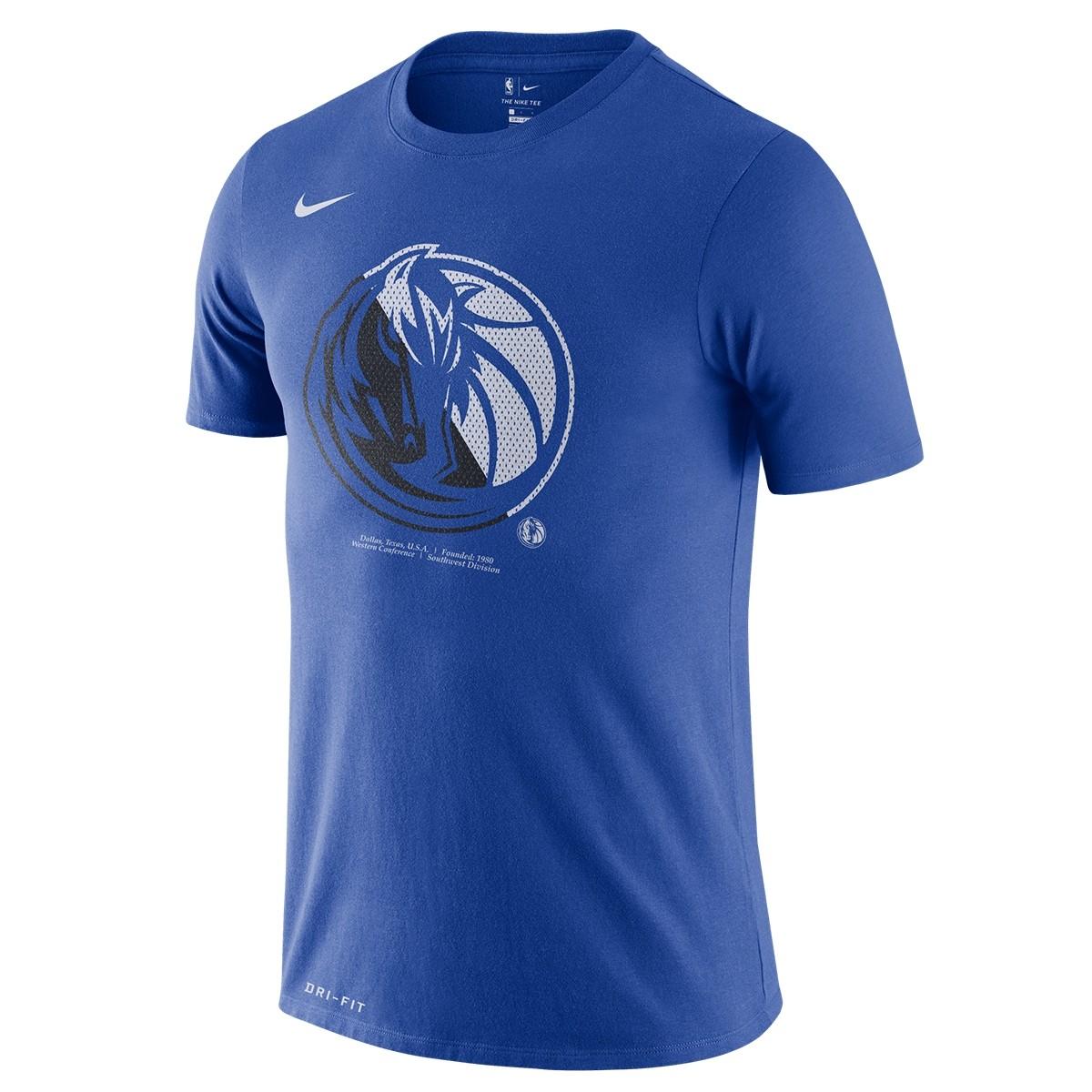 Nike Dri-FIT Dallas Mavericks Logo 'Blue'