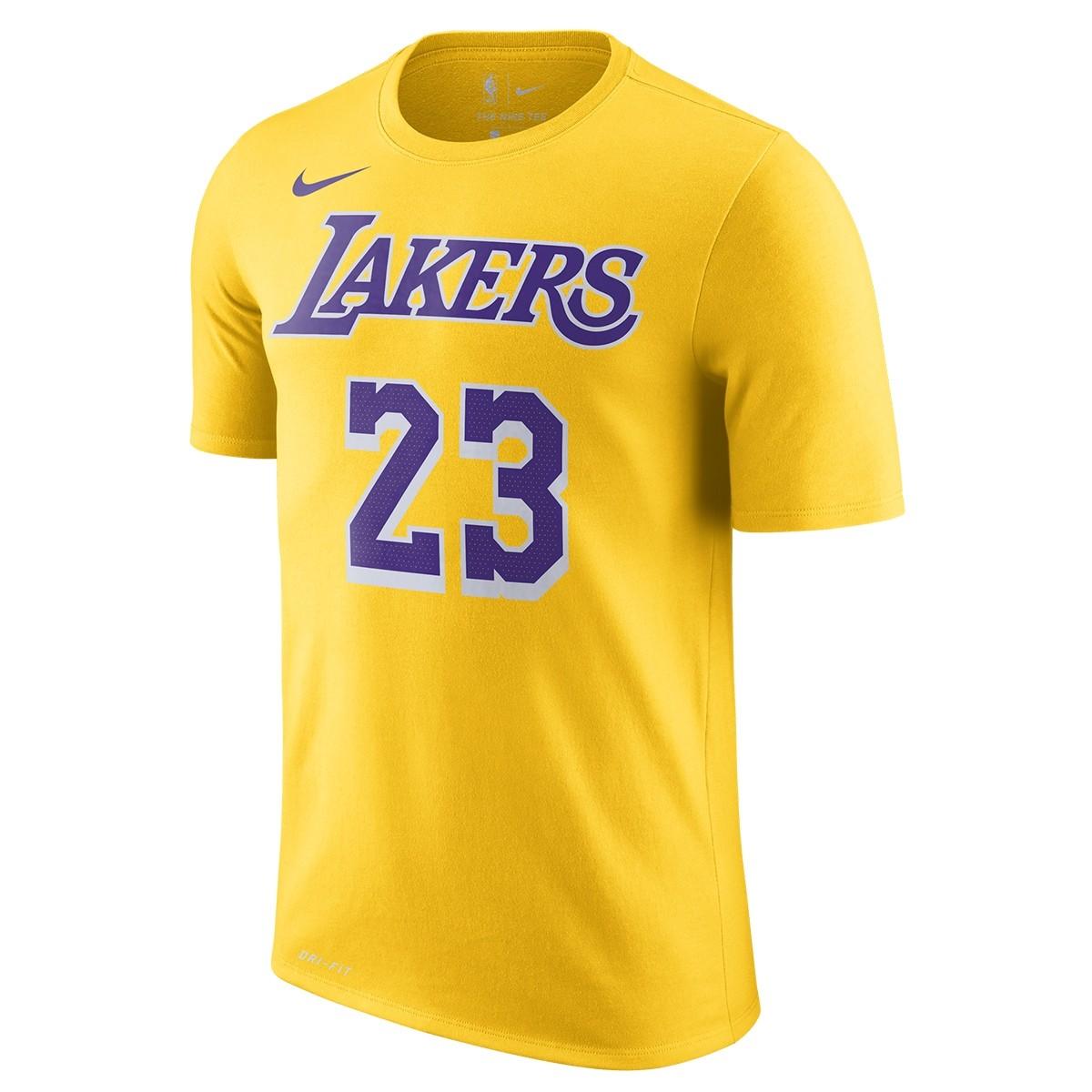 Nike Dri-Fit T-Shirt Lakers 'James'