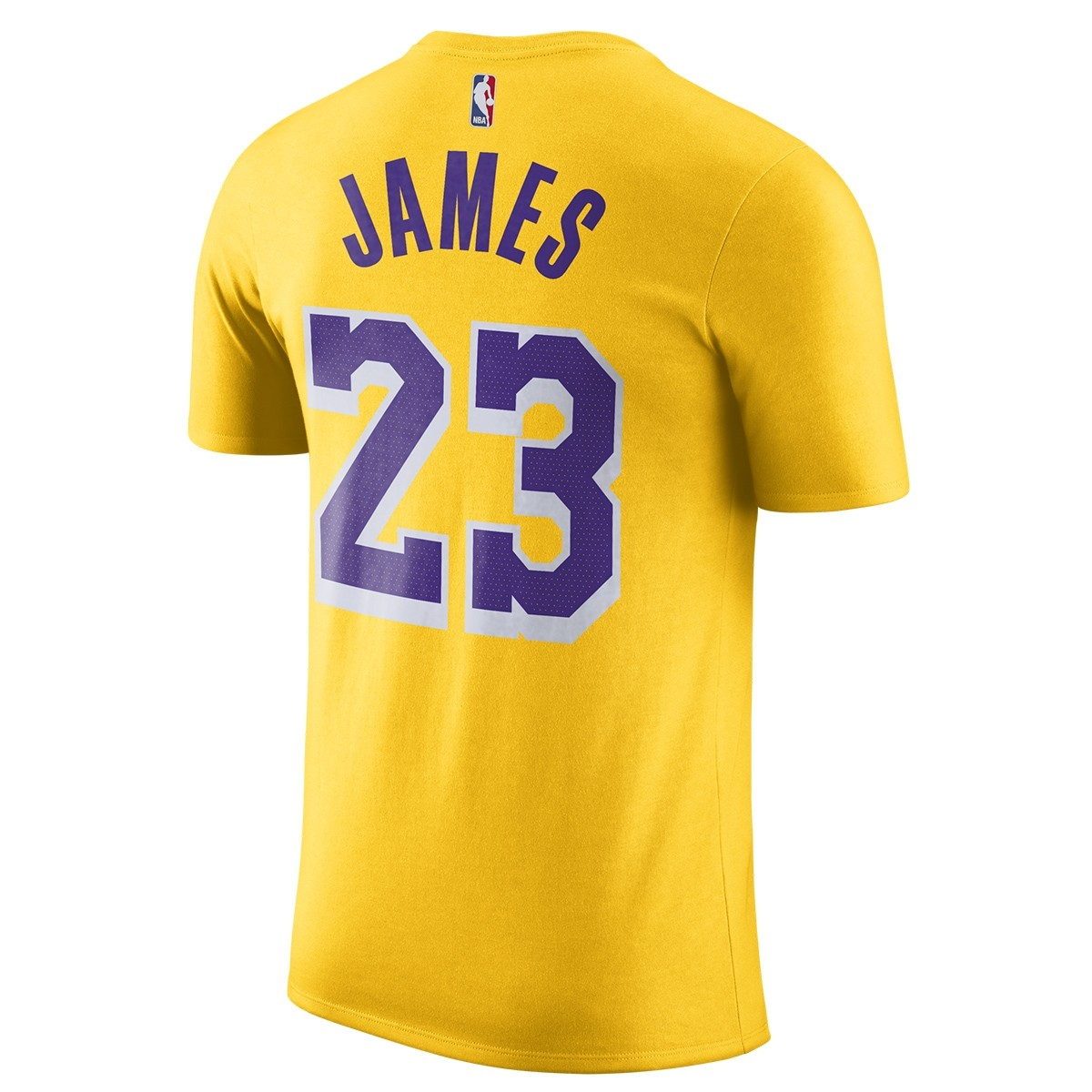 Nike Dri-Fit T-Shirt Lakers 'James'-BQ1540-743