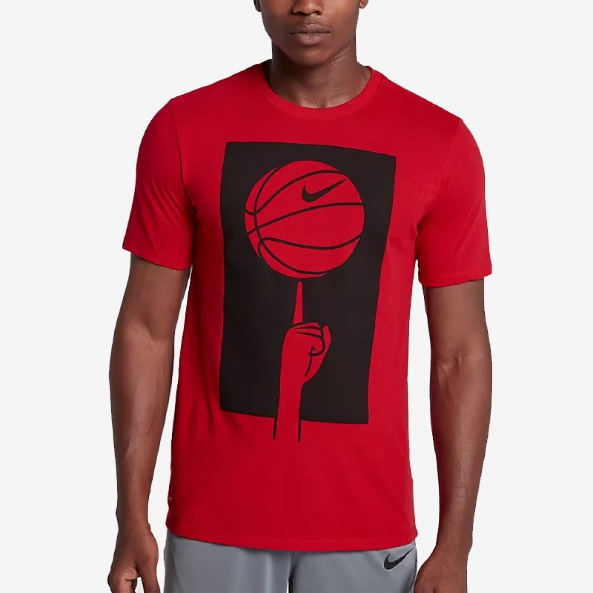 Nike Dry Basketball T-Shirt 'Red'
