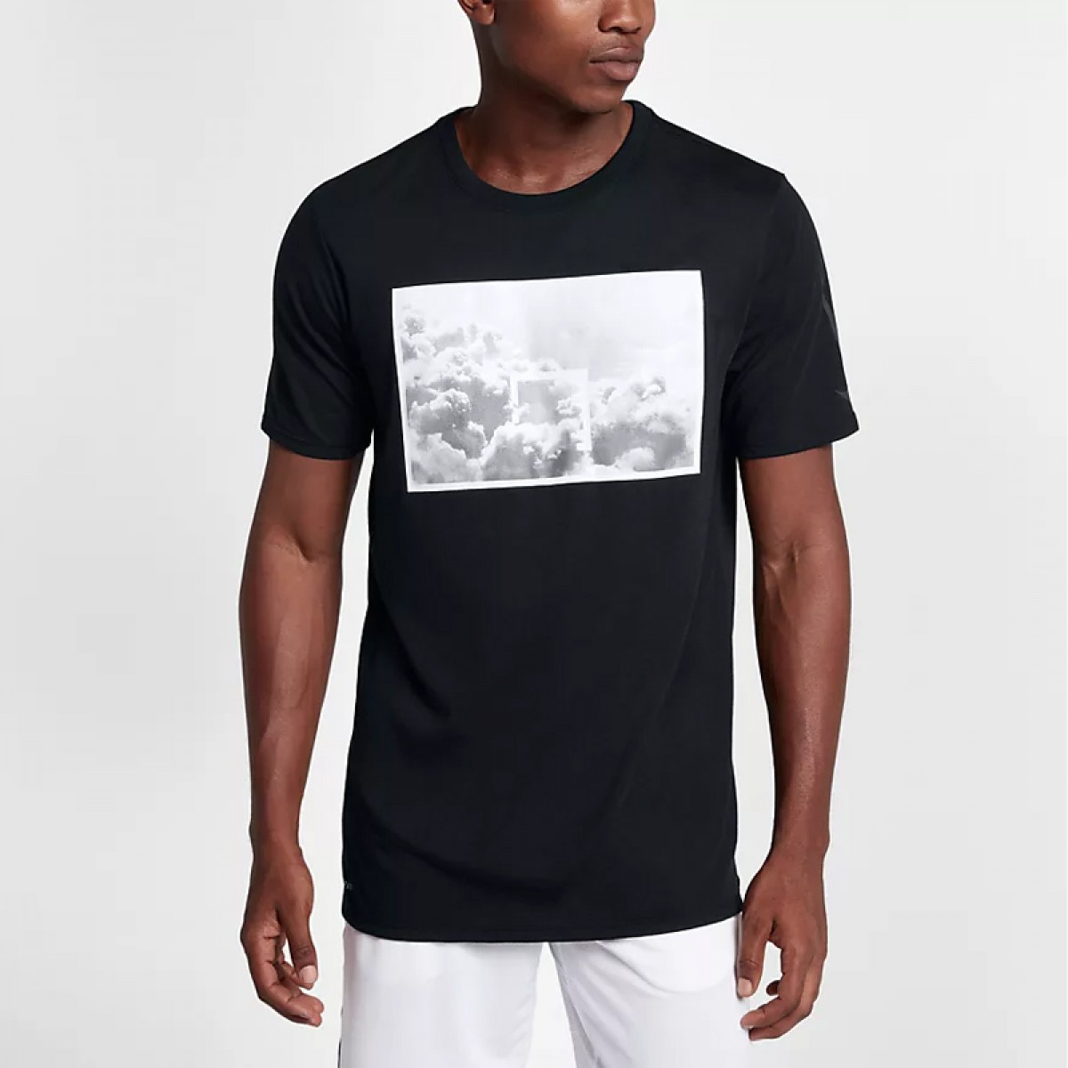 Nike Dry Basketball Tee 'Black'