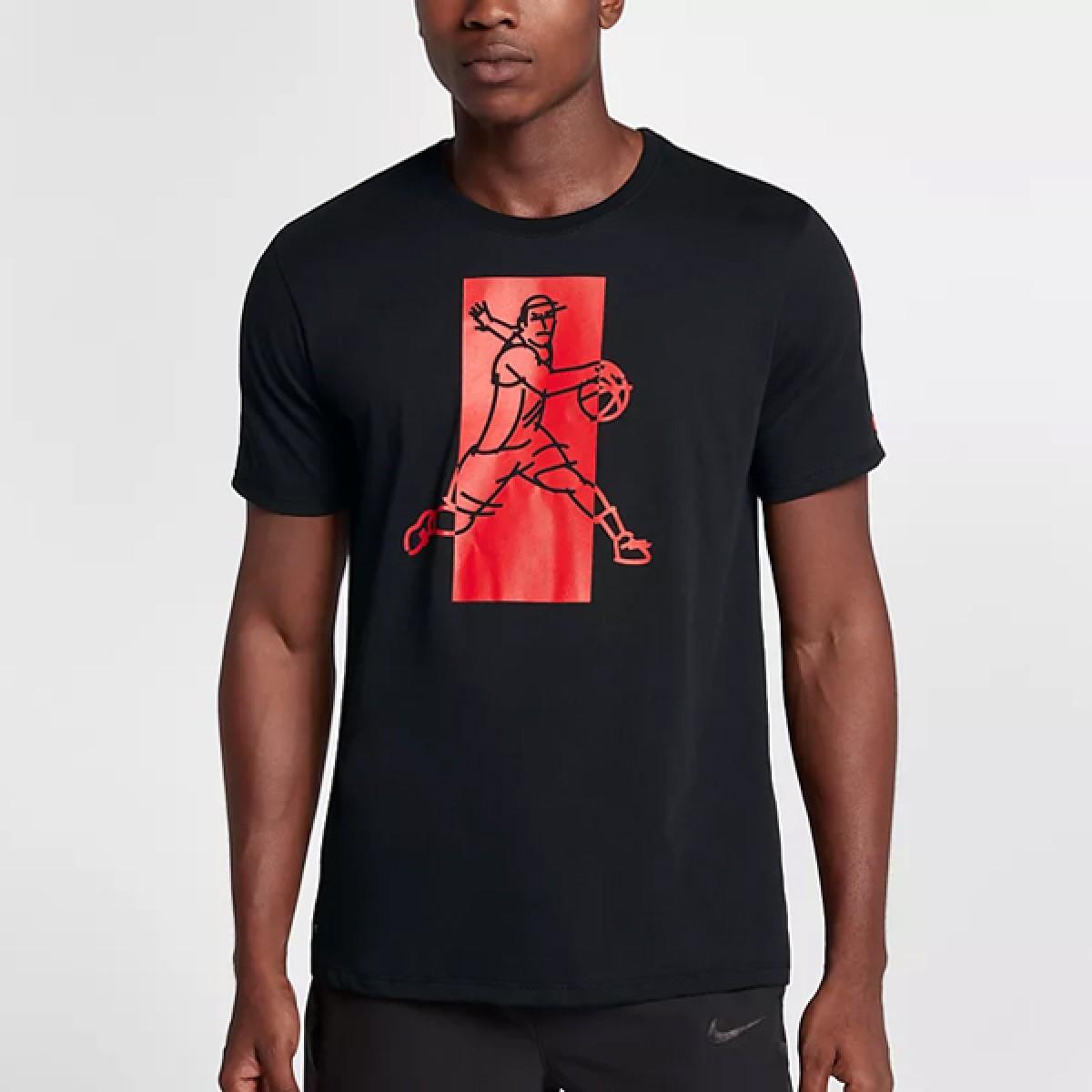 Nike Dry Kyrie T-shirt 'Black'