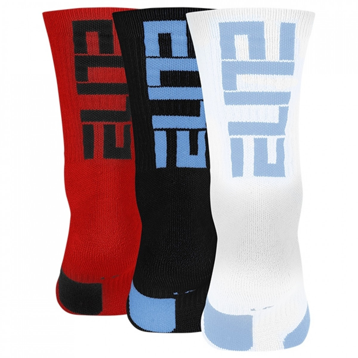 Nike Elite Crew 3 Pack Socks 'Multi'-SX7627-966