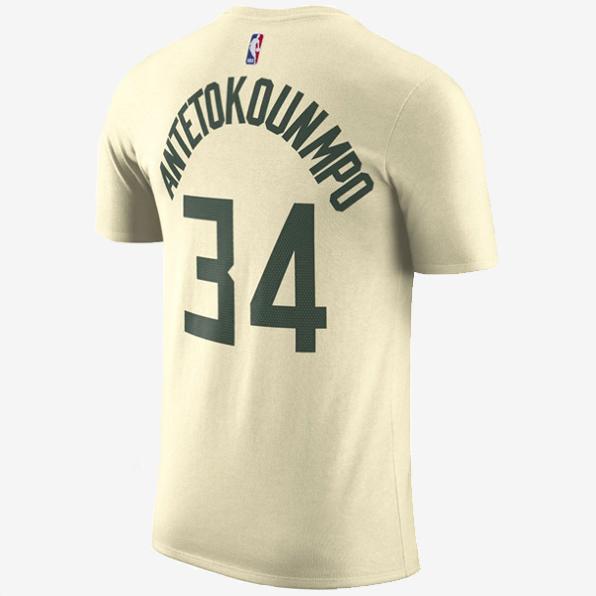 Nike Giannis Antetokoumpo Milwaukee Bucks Dry Tee 'City Edition' AA2596-211