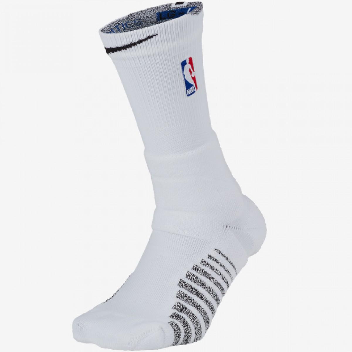 Calcetín Nike Grip Power Crew NBA 'White'