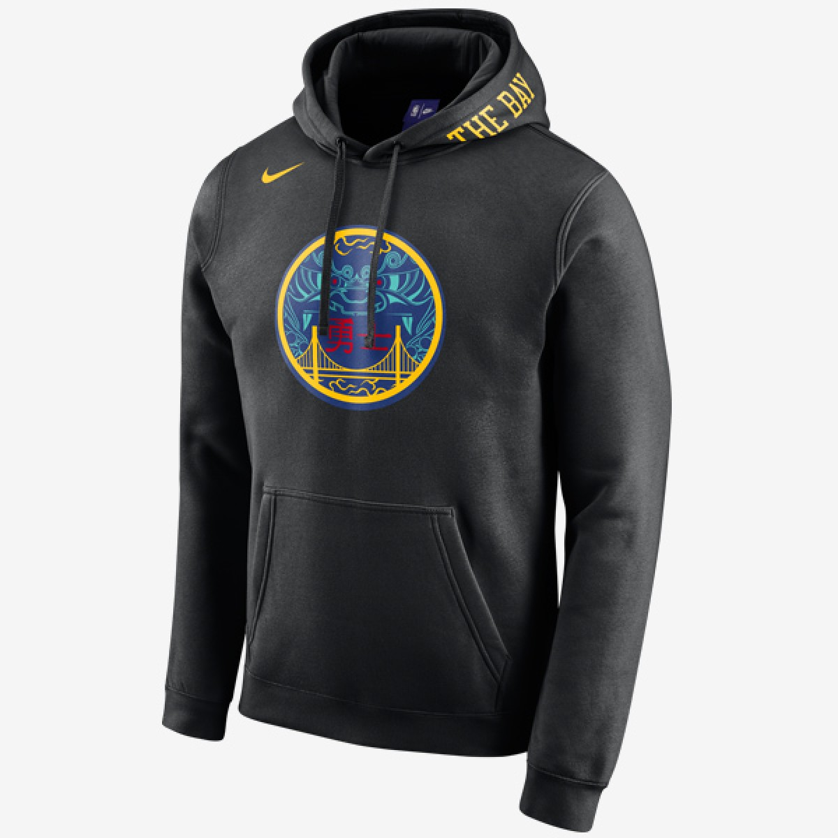 Nike Hoodie Golden State Warriors 'City Edition'