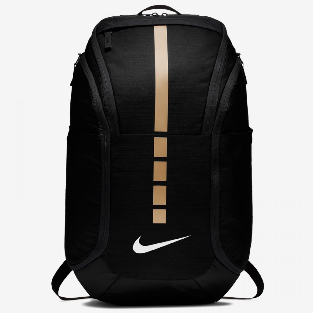 Nike Hoops Elite Pro Backpack 'Black Gold'