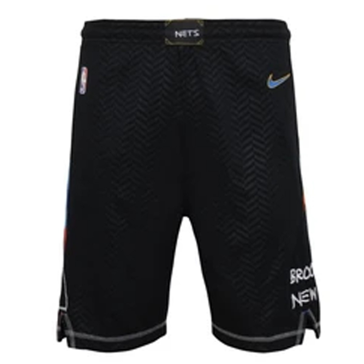 Nike Jr NBA Brooklyn Nets Swingman Short 'City Edition'