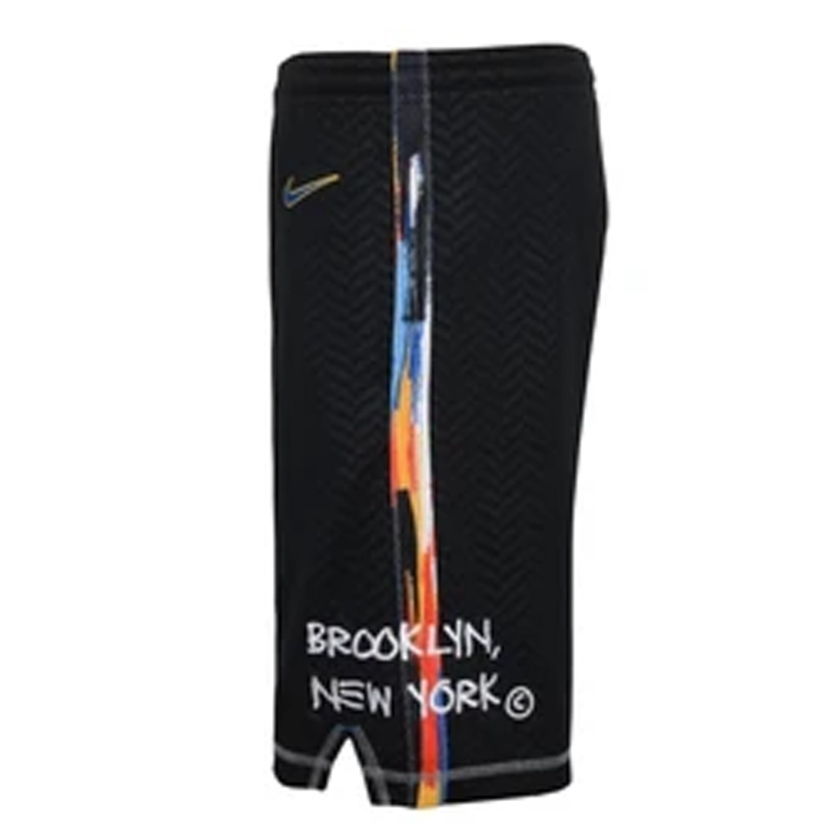 Nike Jr NBA Brooklyn Nets Swingman Short 'City Edition'-EZ2B7BCPL-NYN