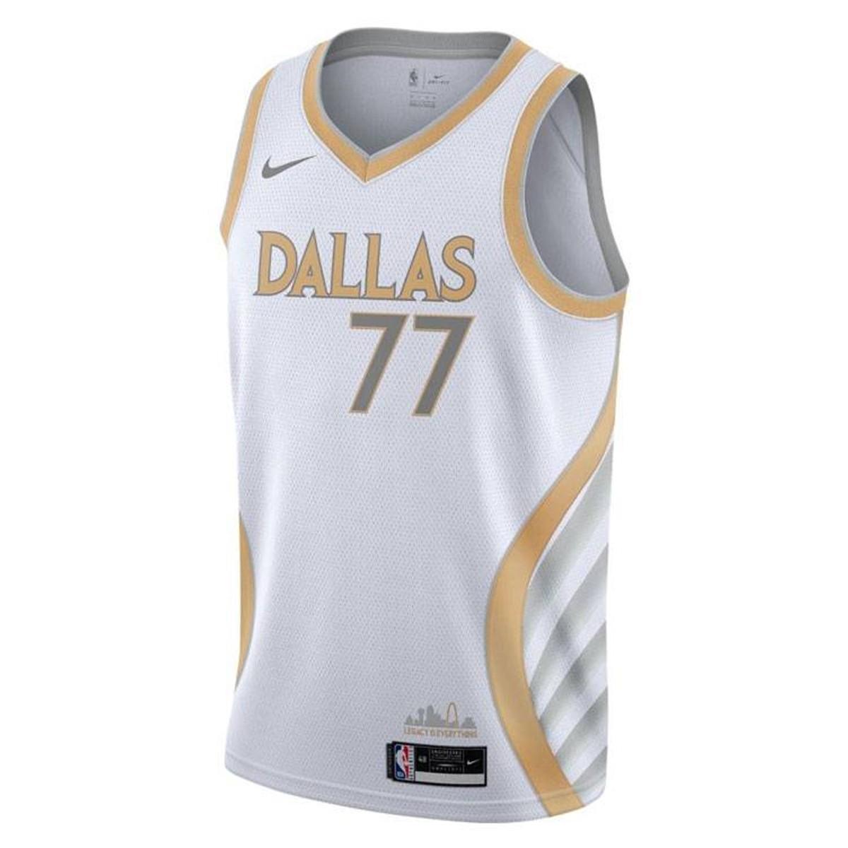 Nike Jr NBA Dallas Mavericks Swingman Jersey Luka Doncic 'City Edition'