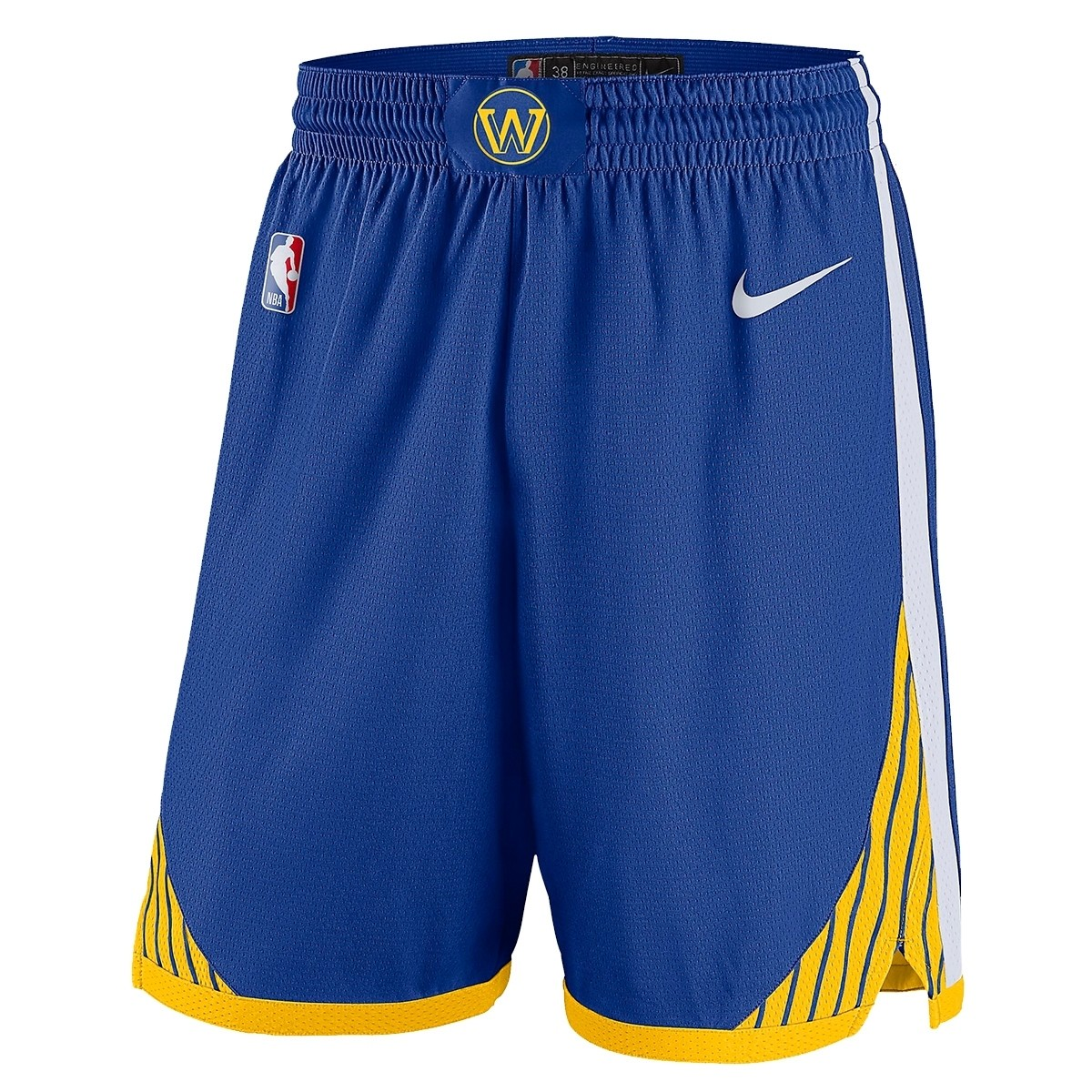Nike Jr NBA Golden State Warriors Swingman Short 'Icon Edition'