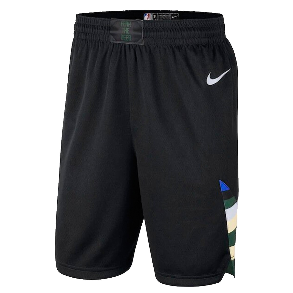 Nike Junior NBA Bucks Swingman Short 'Statement Edition'