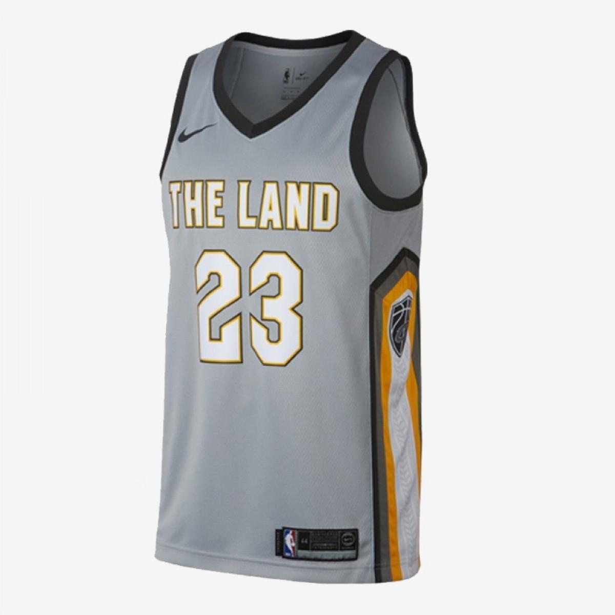 Nike Junior NBA Cavs Swingman Jersey Lebron James 'City Edition'